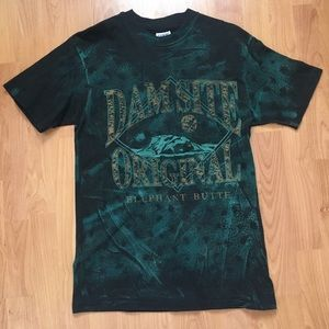 Vtg Dam Site Original Elephant Butte T-Shirt